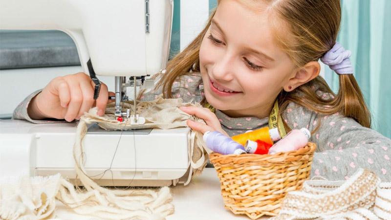 Les meilleures machines à coudre pour enfant