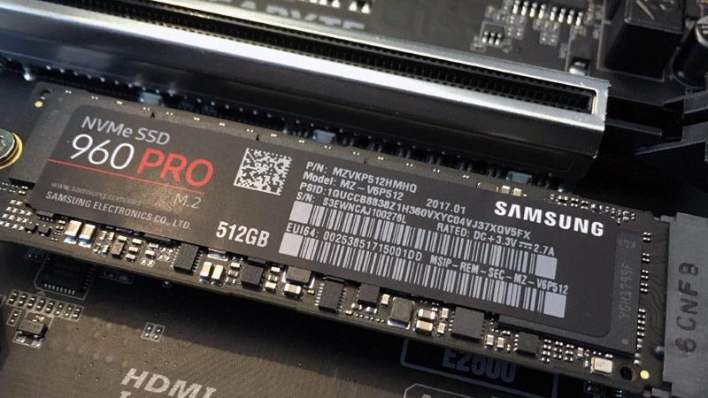 Le meilleur SSD M.2 NVMe